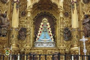 Imagen de la Virgen del Rocío. / Foto: Hermandad Matriz de Almonte.