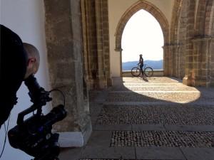 Una imagen de la grabación. / Foto: Oficina Municipal de Aracena.