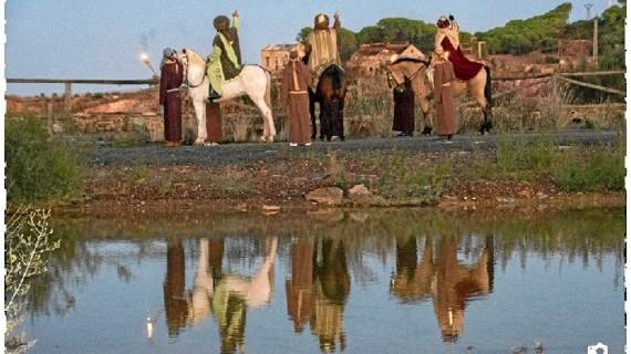 Tharsis vuelve a recrear la magia de la llegada de los Reyes Magos