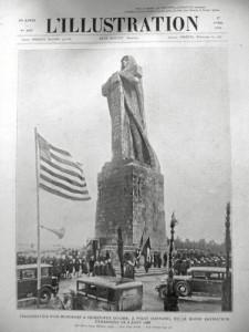 La portada de esta revista también confirma el nombre de Monumento a Colón. / Foto: Francisco Cruz.