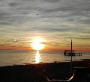 Otra imagen de la ciudad de Brighton.