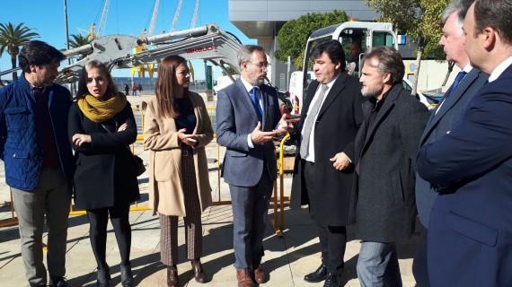 Construyen 11 kilómetros de carril bici en Huelva capital, con cerca de 2,2 millones de euros y 16 meses de trabajos