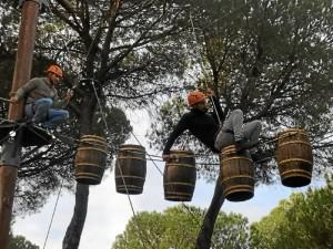 Los jóvenes almonteños se unen en torno a la naturaleza y la aventura