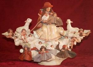 Imagen de uno de los conjuntos que forman parte de la exposición Belenes del Mundo.