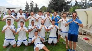 Una imagen del Club Deportivo Sordos de Huelva, (C.D.S Huelva).