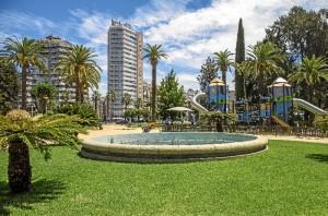 Fuente Parque de las Palomas.