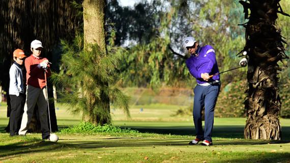 Juan Agüera y Yago Horno, vencedores del I Torneo de Dobles de Navidad de golf en Isla Canela