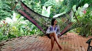 Patricia Gonzálvez llegó a Costa Rica en el mes de julio.