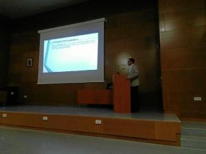 Otro momento de la presentación de la tesis.