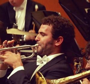 Marcos García Vaquero es un virtuoso de la trompeta.