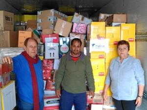 Importante ayuda la que conceden de la Asociación de Amigos del Pueblo Saharaui del Andévalo.