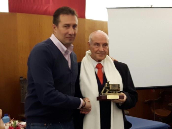 Ríotinto homenajea a Rafael Cortés