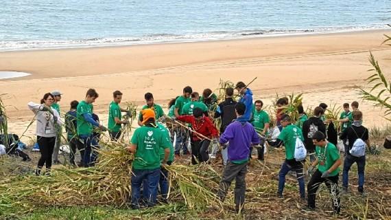 Moguer acoge con éxito el encuentro andaluz de scouts Green Doñana