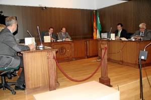 Reconocimiento de la labor de los jueces de paz en los municipios de la provincia.