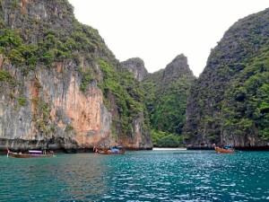 Islas Phi Phi en Tailandia, conocidas en todo el mundo por su extraordinaria belleza.