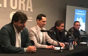 Un momento de la presentación del libro de Juan Manuel Garrido Anes. / Foto: G. D.