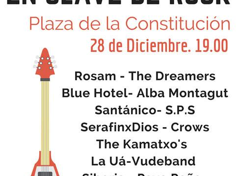 Grupos onubenses versionan villancicos navideños el 28 de diciembre en la Plaza de la Constitución