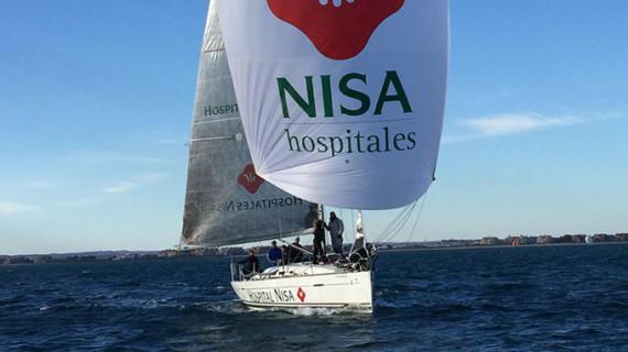 Triunfo del First 40 Hospitales Nisa-Al Kevir en la XI Regata del Jamón celebrada en Isla Canela