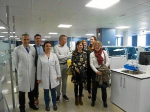 Una imagen de la visita.