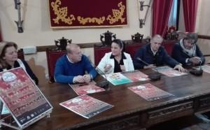Presentación de la programación navideña en el Ayuntamiento de Almonte.