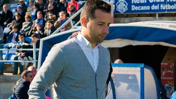 """Ángel López tiene ganas que llegue el partido del domingo para """"ver la mejor versión del Recre"""""""