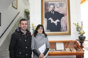 Rocío Bejarano y José Jiménez.