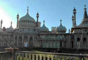 Royal Pavilion, el monumento más conocido de esta ciudad turística.