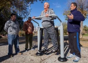 La experiencia ha estado dirigida por técnicos del Area de Deportes del ayuntamiento capitalino.