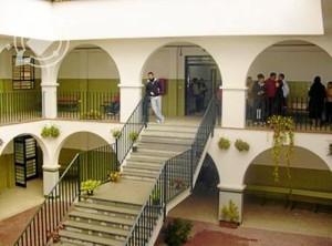 Hizo COU en el entonces recién inaugurado IES Juan Ramón Jiménez de Moguer. / Foto: schoolMars.com