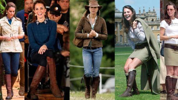 Kate Middleton vuelve a confiar en las botas de Valverde del Camino