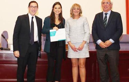 La odontóloga onubense Leire Boccio, un ejemplo a seguir al lograr el mejor expediente académico de su promoción en la Complutense