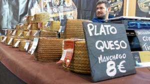 Una imagen del Mercado del Queso Artesano de Aracena.