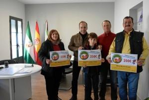 'Los ganadores de 'compra en Hinojos'.