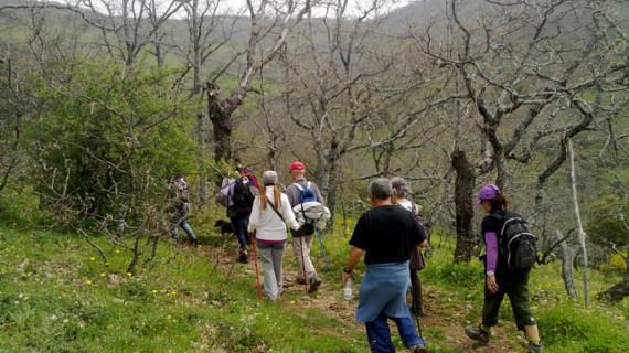 Cartaya organiza una jornada de senderismo por los Molinos Harineros de Cortegana