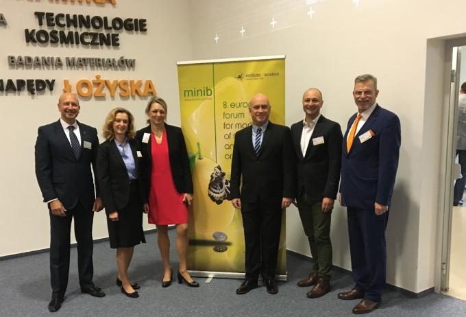 La UHU, única representante de España en un encuentro científico internacional en Varsovia