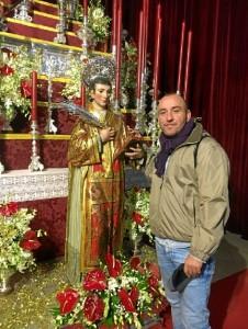 El alcalde de Lucena, David Vivas, invita a toda la provincia a disfrutar de los fiestas patronales.