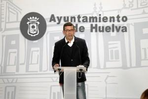 El concejal de Infraestructura y Servicios Públicos del Ayuntamiento de Huelva, Luis Albillo.