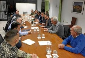 Imagen de la reunión del sector.