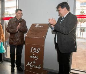 Un momento de la celebración del 150 aniversario del Mercado del Carmen.