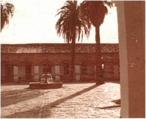 Patio del antiguo Matadero municipal. Diciembre de 1983.