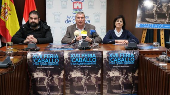 La Feria del Caballo de Cartaya calienta motores con la presentación del cartel