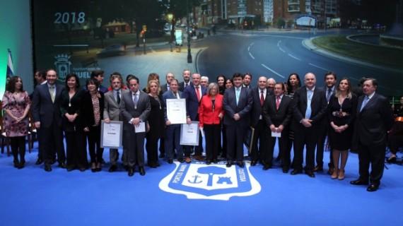 Entregados los reconocimientos de la ciudad de Huelva en la celebración del día de San Sebastián