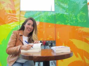 La escritora Estrella Correa.