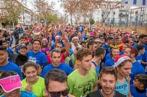 Este 31 de diciembre se celebró la VIII edición de la Carrera Popular San Silvestre.