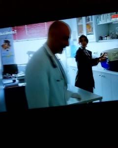 Un momento de la aparición de Carmelo en la serie. / Foto: Carmelo Crespo (Telecinco).