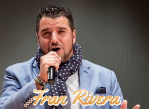El cantante onubense Fran Rivera.