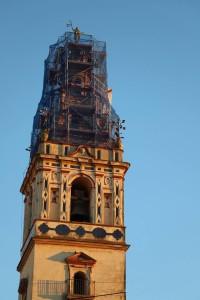 Imagen de la torre de Moguer.