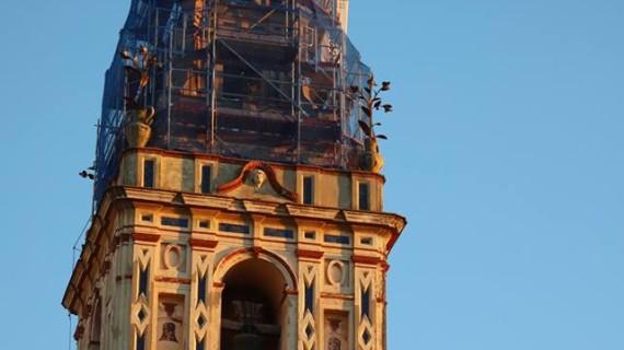 La restauración de la Parroquia de Moguer, en su cuarta fase de ejecución