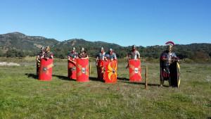 arucci turobriga aroche recreacion campamento romano legionarios