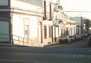 Otra perspectiva de la calle Francisco Pizarro. 2 de febrero de 1997.